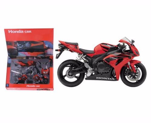 moto kit para armar honda cbr1000rr escala 1:12 newray