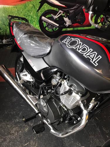 moto mondial atom 125cc financio hasta 36 cuotas