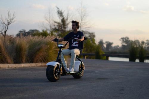 moto patin eléctrica urban halley patona