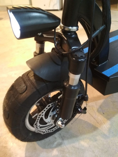 moto patin eléctrico urban halley 1200w