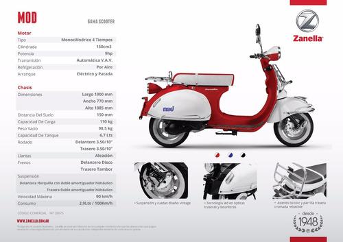 moto scooter styler 125 zanella