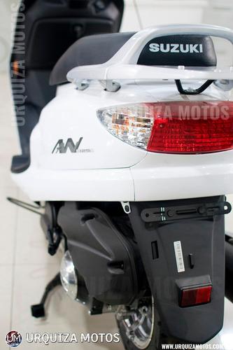 moto scooter suzuki an 125 0km urquiza motos