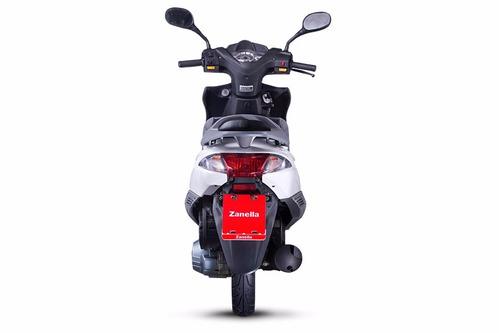 moto scooter zanella styler 150 lt nuevo modelo 18 cuotas
