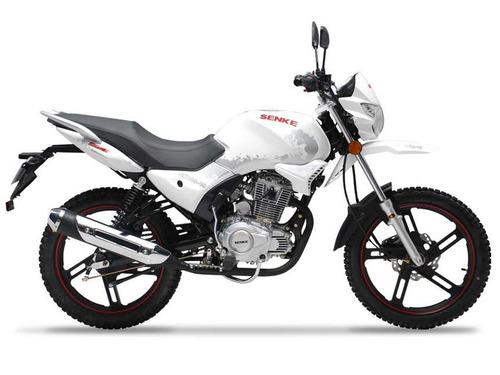 moto senke sk12519 125cc color blanco
