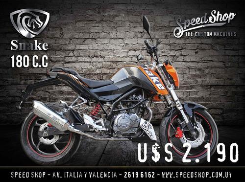 moto snake 180cc naked  modelo 2018