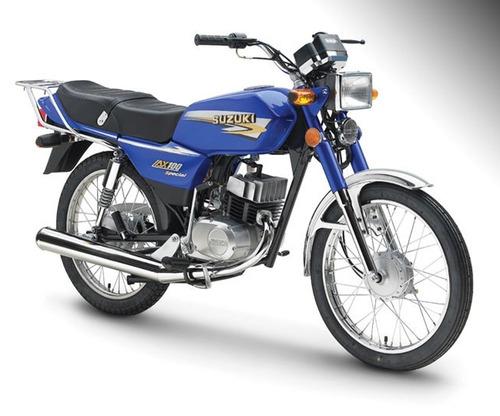 moto suzuki 100