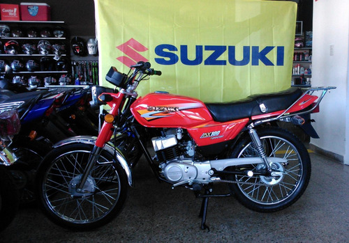 moto suzuki ax 100 *2017* 12 cuotas color negro