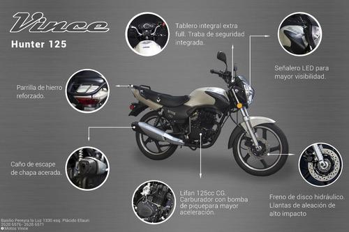 moto vince hunter 125
