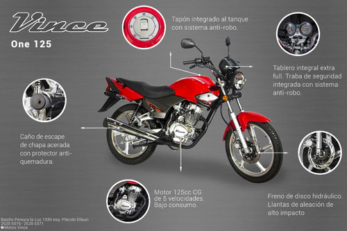 moto vince one 200