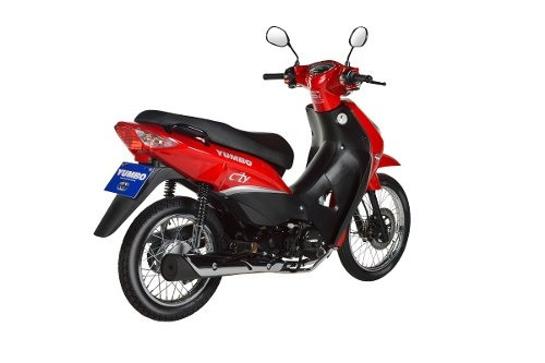 moto yumbo city 125 s , full ,top , pollerita, sola firma!