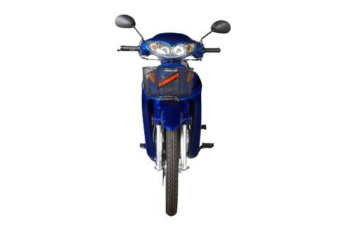 moto yumbo pollerita c 110 dlx canasto llantas de aleación