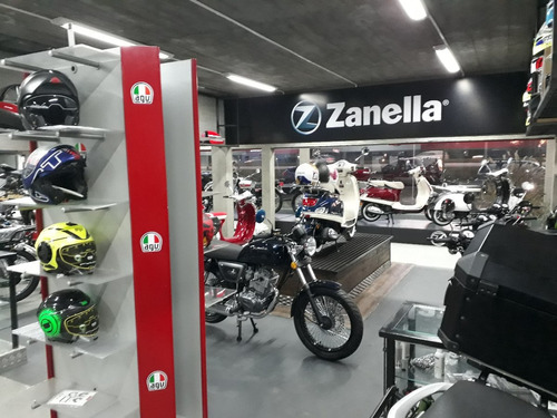 moto zanella ceccato r200 - 100% financiada + regalo