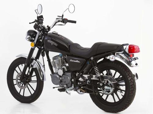moto zanella patagonian 125 custom - financiada + regalo!