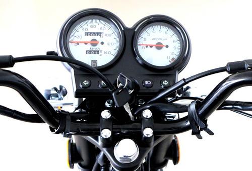 moto zanella sapucai 125 retro, financiada + regalo!