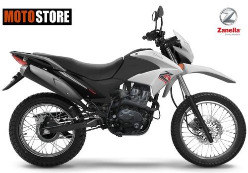 moto ztt zr 250 cc zanella 0km 2018