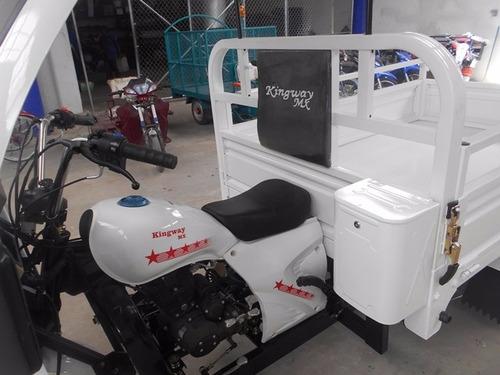 motocarro kingway 2018 caja 1.80 700 kg con cabina 12 meses