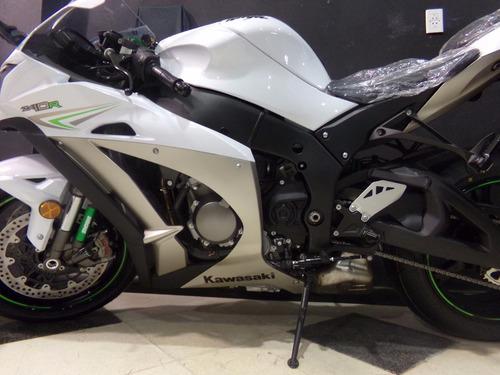 motocicleta kawasaki zx10 zx 10 r 2017 0km blanca