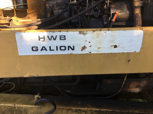 motoniveladora hwb galion