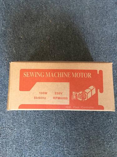 motor con pedal para  maquina familiar standar