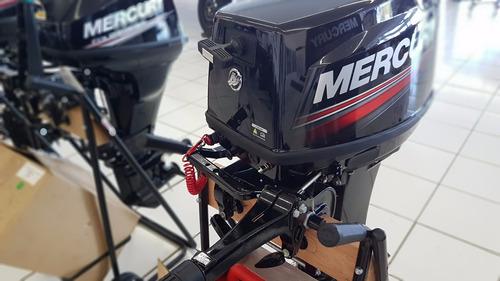 motor de popa mercury 30 hp 2 tempos novo 2018 c/ capa