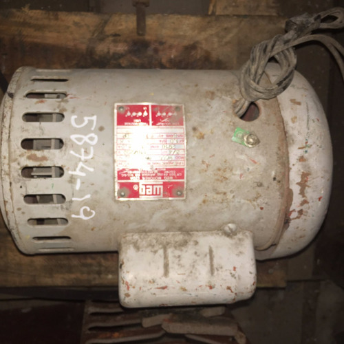 motor eléctrico weg monofasico 3/4hp 2900rpm.