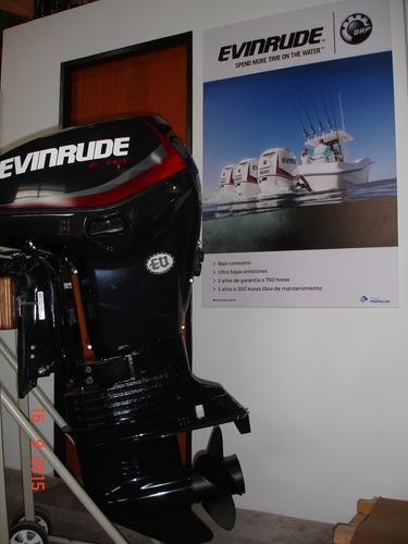 motor evinrude e-tec 250 hp ecol 5 años de garantia oficial!