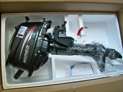 motor fuera de borda hidea 5 hp 4t powertec evinrude honda