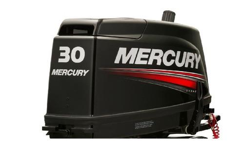 motor fuera de borda mercury 30hp comandos 2 tiempos tanque