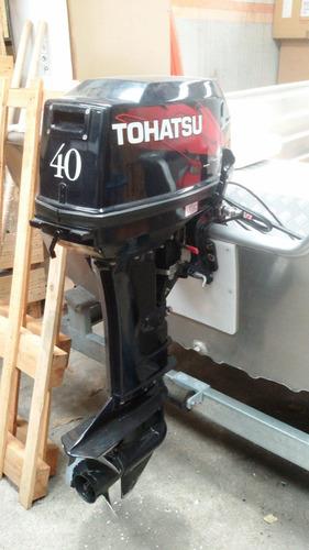 motor fuera de borda tohatsu 40 hp 2 tiempos (usado)