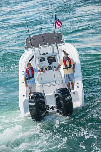 motor mercury fuera borda 40 hp comandos arranque electrico