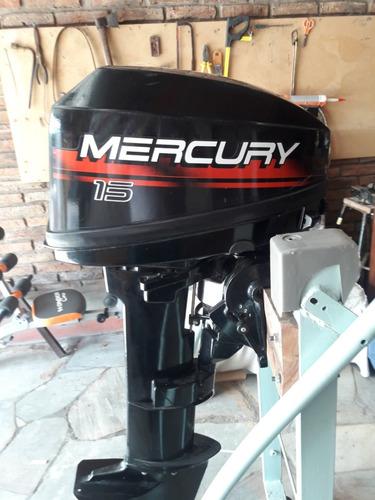 motor mercury fuera de borda y tanque nuevito