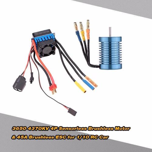 motor y variador sin escobillas brushless  rc ph ventas