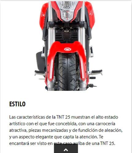 motos benelli tnt25 naked