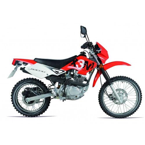 motos moto 0km motocross cross baccio x3m casco regalo fama