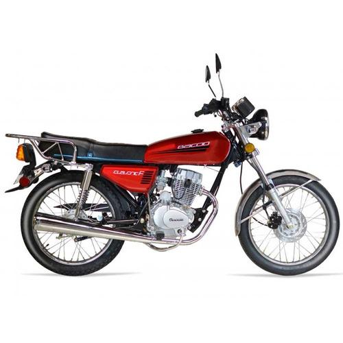 motos moto nueva 0km baccio classic f125 con casco fama