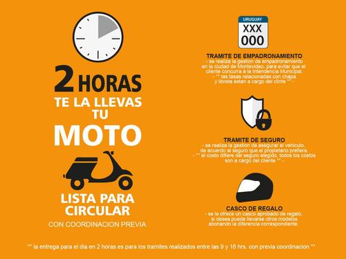 motos motomel blitz 110 polleritas nuevas 0km con casco fama