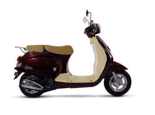 motos motomel strato euro 125 scooter tipo vespa
