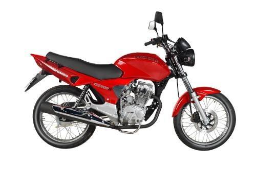 motos yumbo 0km gs 200 - racer - benelli tnt - sola firma