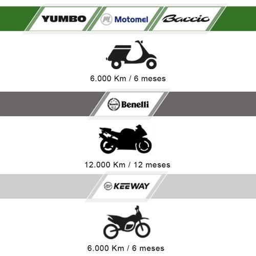 motos yumbo city 125 ii polleritas nuevas 0km con casco fama