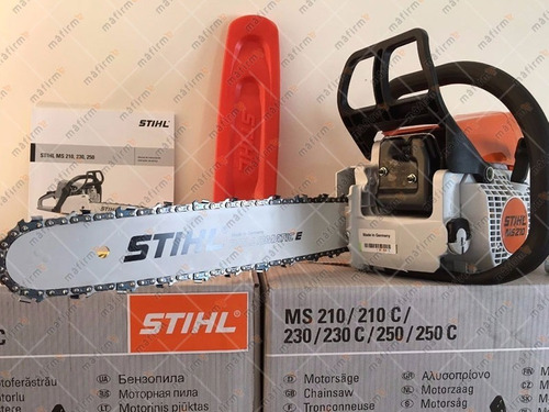 motosierra stihl ms210 con vaina/cadena de 40cm | mafirme