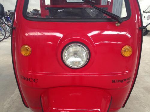 mototaxi  200cc con puertas a 12 meses promocion
