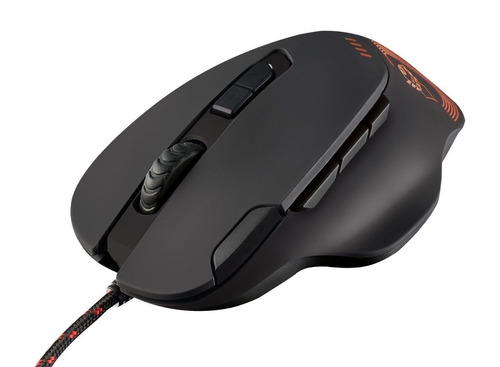 mouse gaming 9 botones con led 4000 dpi -  gxt 162