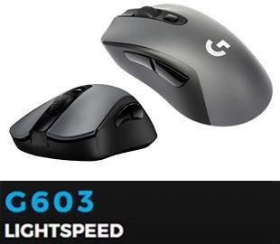 mouse logitech g603 gaming inalambrico 6 botones
