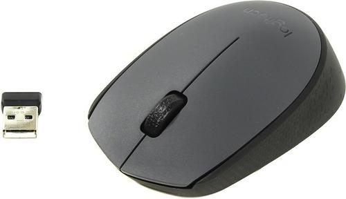 mouse logitech m170 inalambrico portable varios colores-lt