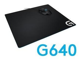mouse logitech pad g640 gaming friccion moderada