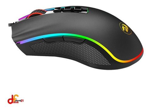 mouse redragon cobra usb rgb colores futuro21