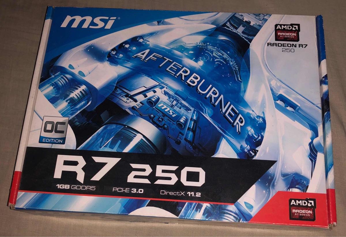 Msi Radeon R7 250 1gb Gddr5