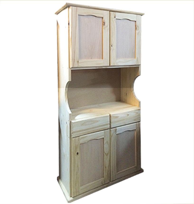 Mueble Alacena - Cocina - Living - Modular - Madera - Lcm - $ 3.999 ...