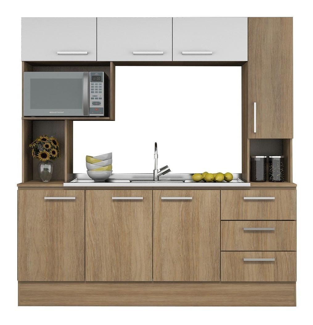 Mueble Alacena Kit De Cocina Gran Capacidad Napole - $ 4.590,00 en ...