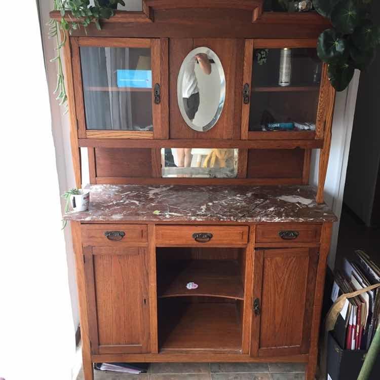 Mueble Antiguo Aparador Comedor - $ 15.000,00 en Mercado Libre